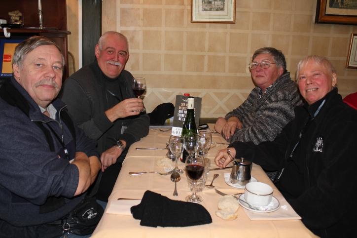 """88. Chez les belges, à la table """"Gruut"""", une fois ... n'est pas coutume, on boit du vin"""